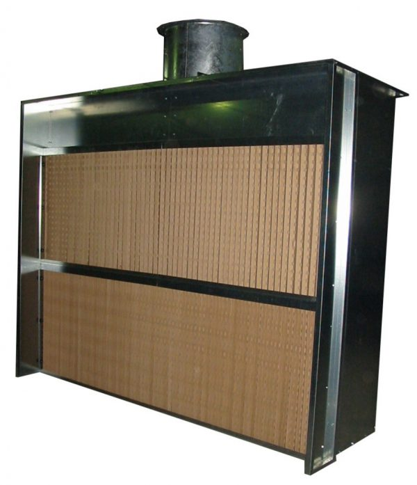 Cabine de peinture horizontale ATEX