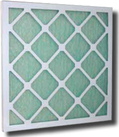 Filtre plan fibre de verre