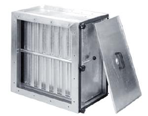 caisson de filtration entre -gaine (grand débit)